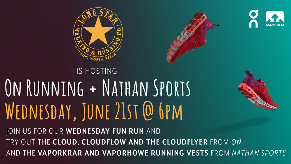 On Running + Nathan Sports Lone Star Running Co.