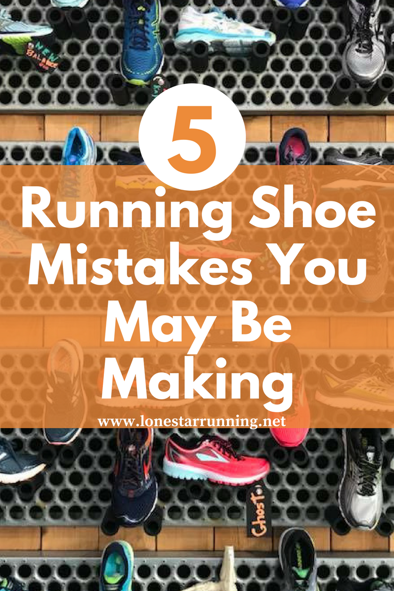 5 running shoe mistakes you may be making. Like this post? Save to your favorite Pinterest running board for later.