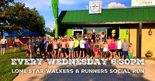 Lone Star Walkers and Runners Social Run