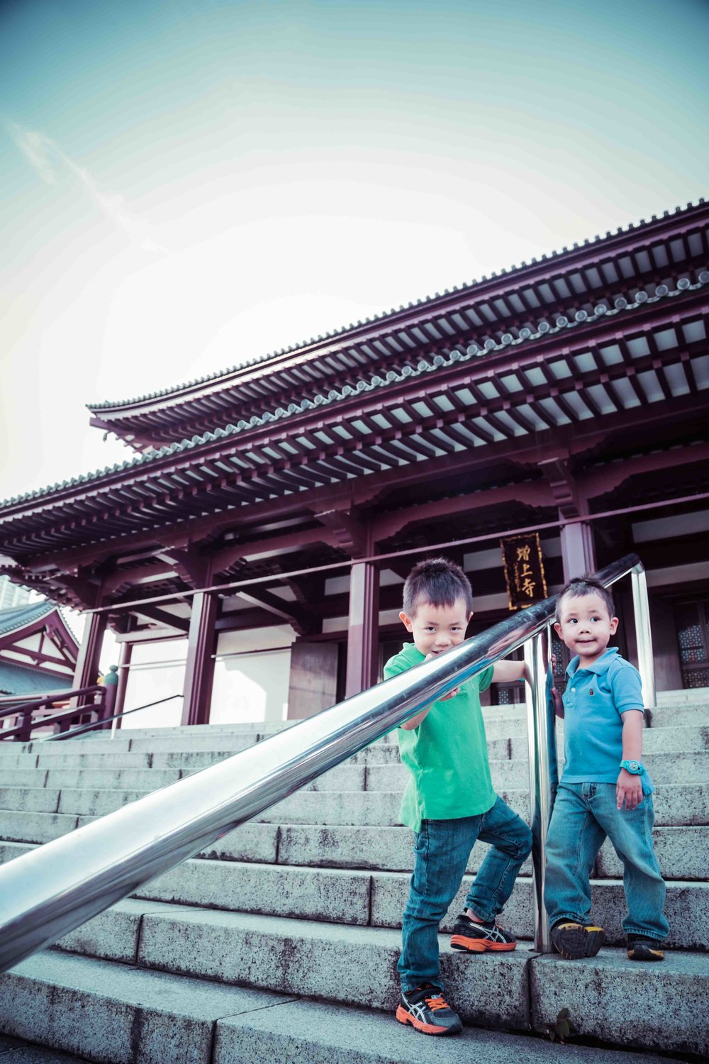 Tokyo family temple and shrine photography