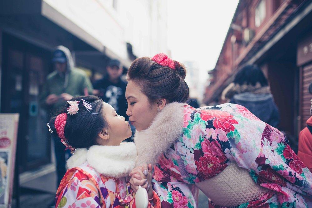 Tokyo family photography - Location shoots