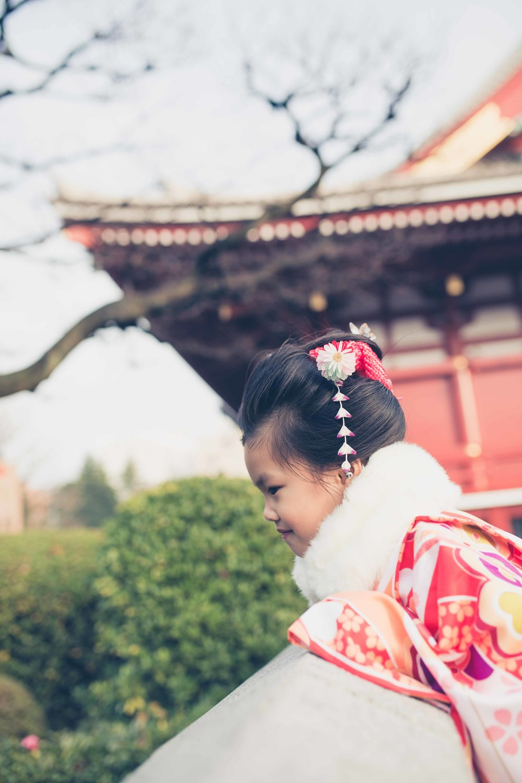 Family and kids kimono photo shoots in Tokyo
