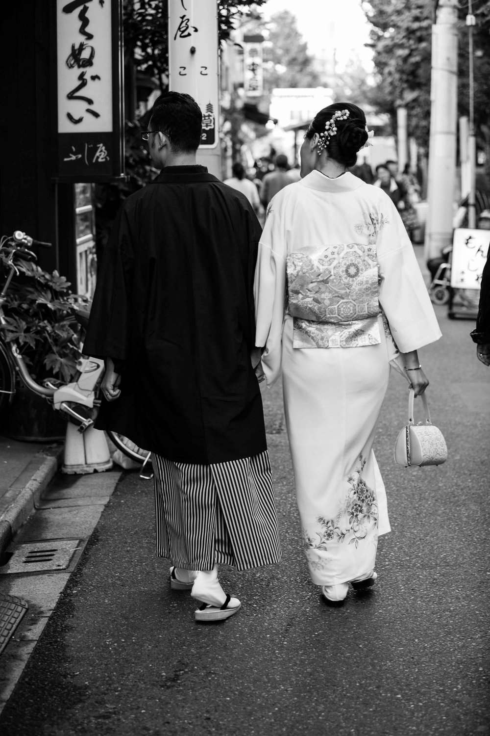 Prenup (engagement/pre-wedding) photo shoots in Tokyo