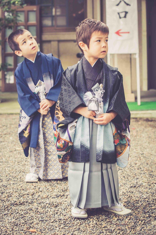 Tokyo kids photographer (temple/shrine)