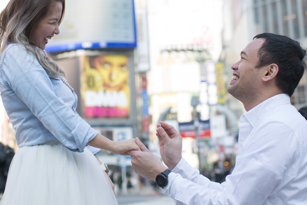 Tokyo pre-wedding photographer (prenup, engagement)