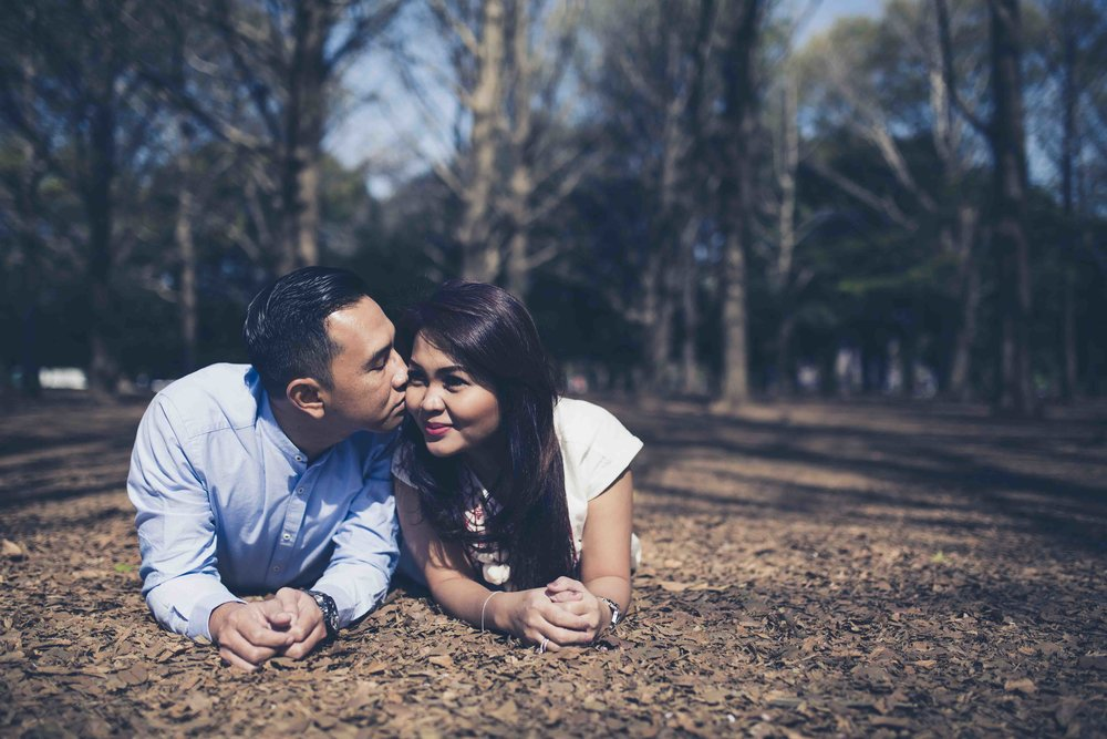 Engagement photo session - Yoyogi Park