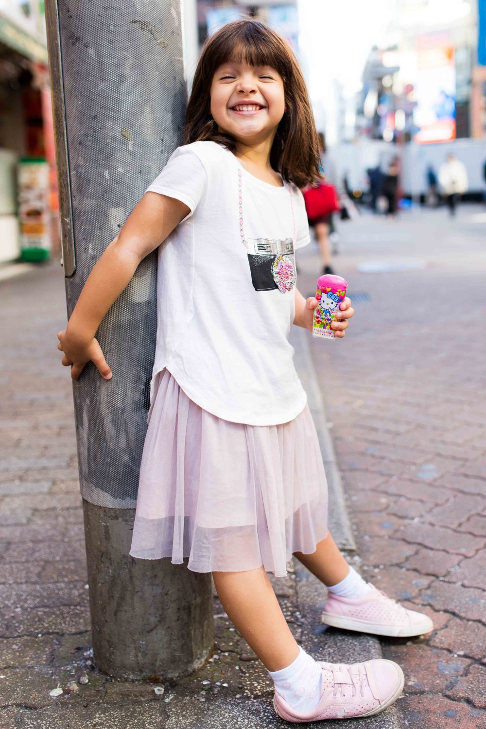 Kids photography on location, Tokyo
