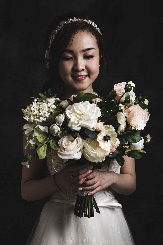 Pre-wedding photography, Tokyo studio