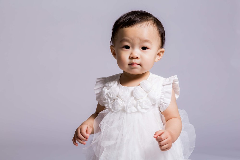 One-year old celebration, Tokyo studio