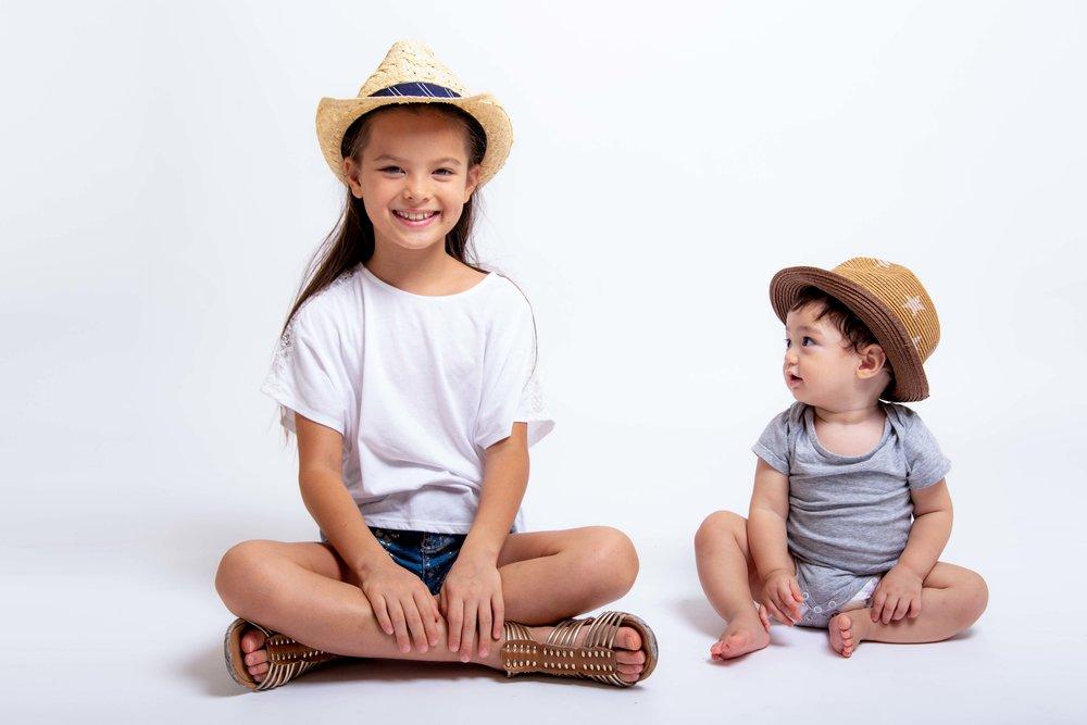 Children's photo shoot, Tokyo studio