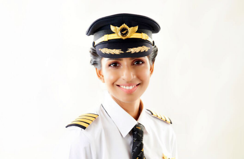 ANNY DIVYA: YOUNGEST FEMALE PILOT -