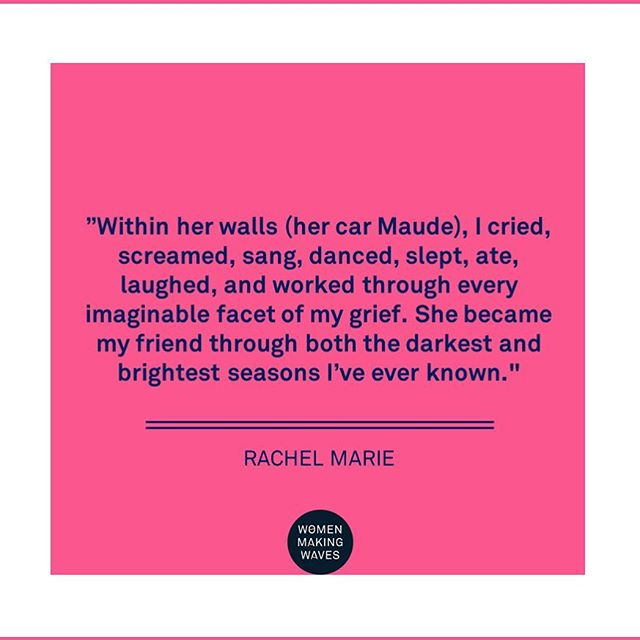 """Within her walls, I cried, screamed, sang, danced, slept, ate, laughed and worked through every imaginable facet of my grief. She became my friend through both the darkest and brightest seasons I've ever known."" @photonomad_ 👉 read her stories (link in bio)"