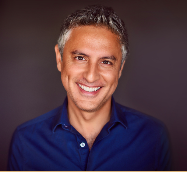 Reza Aslan, pictured above, is the of author of  God: A Human History.