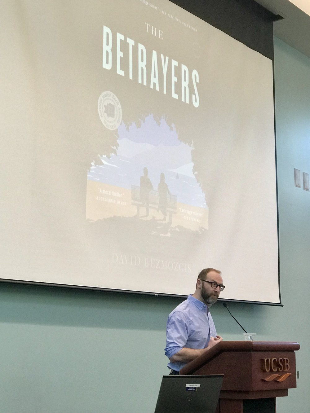 Novelist and filmmaker David Bezmozgis discusses his 2014 novel  The Betrayers.