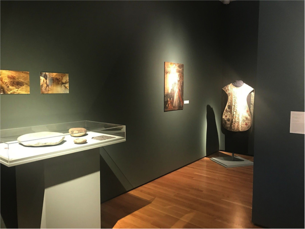 These pieces are on display in the Mission Era gallery. (Photo by Shamara Carney)
