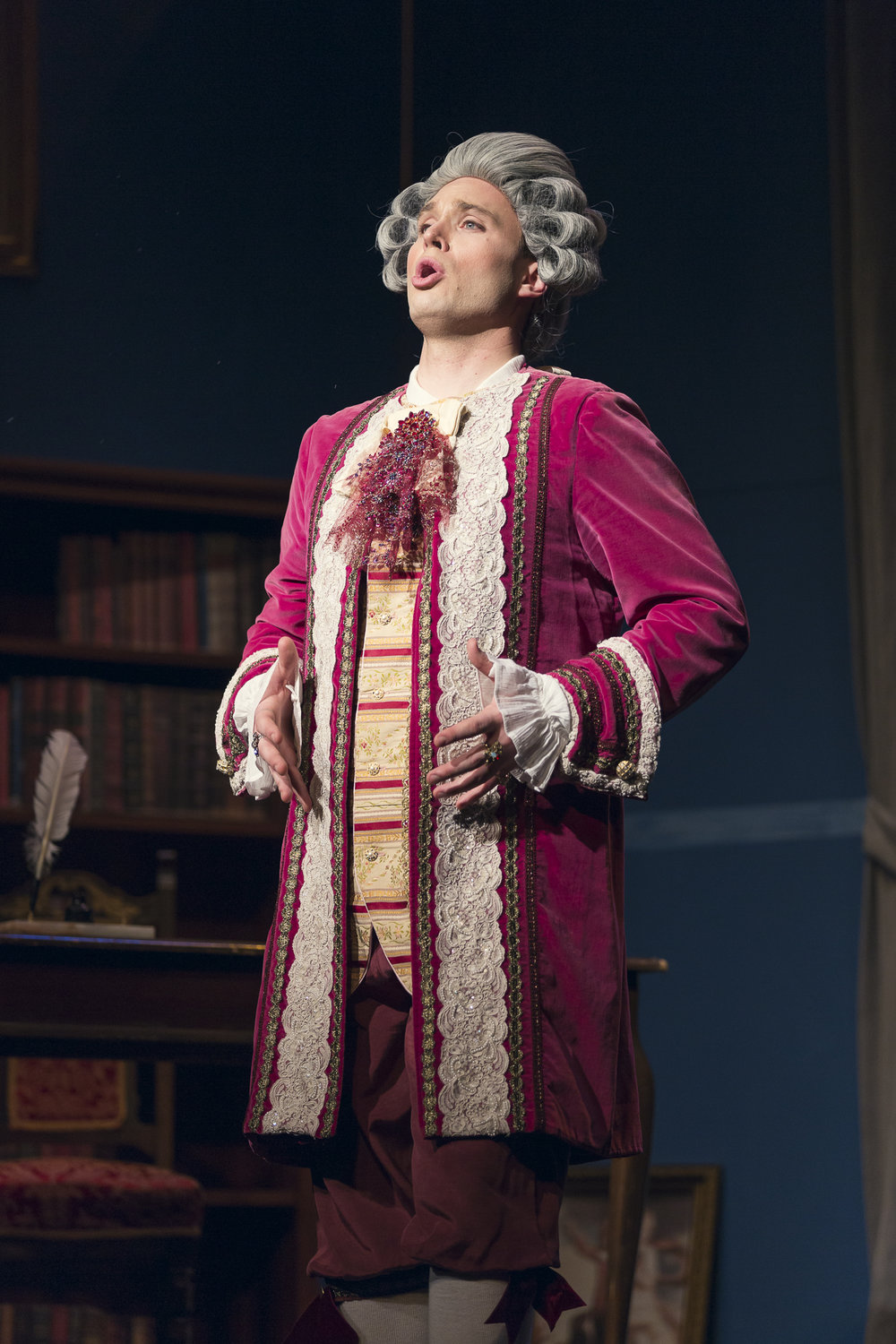 Tyler Reece in the role of Count Almaviva (Photo by Matt Perko)