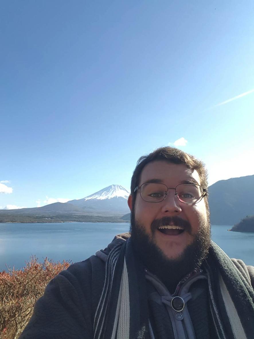 Nicholas Wagenseller visited Mt. Fuji, Japan, in December of 2017.