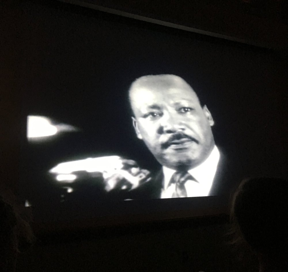 Martin Luther King Jr. speaking about Black rights in the documentary,  1968: The Year That Shaped a Generation .
