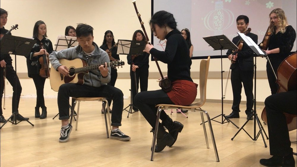 Giving Bach, a music outreach program at UCSB, performed a few pieces of traditional Chinese, Korean, Japanese and Vietnamese songs.