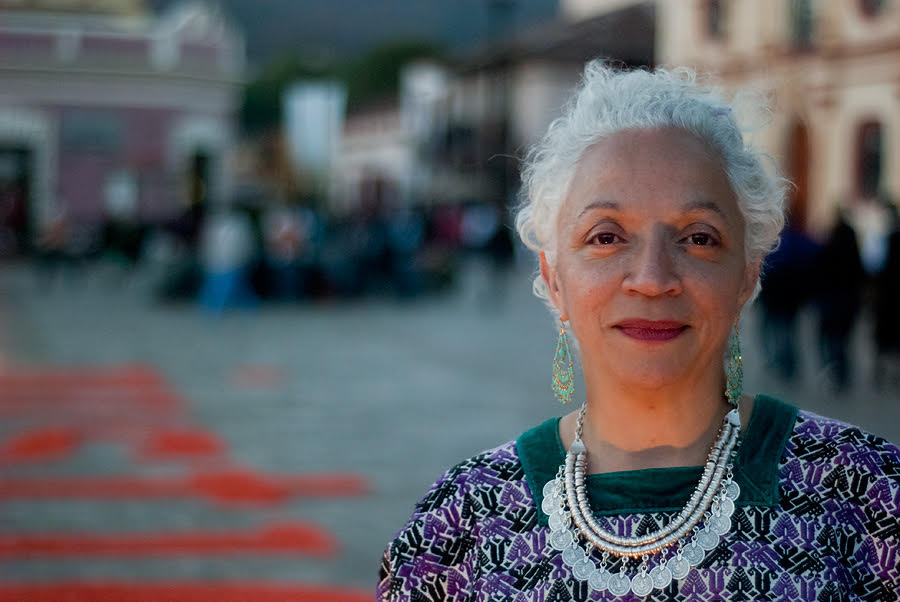 Doris Difarmecio, director of  Bittersweet Dreams/Dulces y amargos sueños .