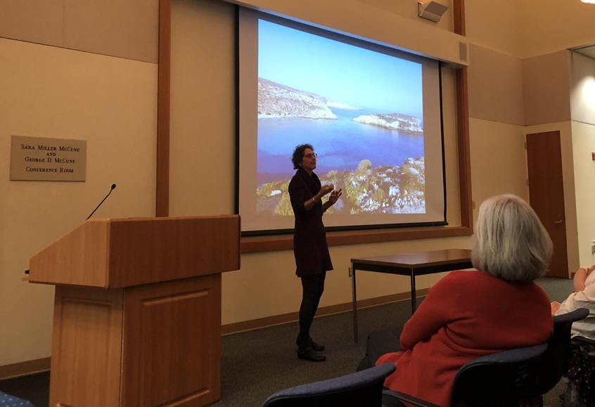 Historian Amy Remensnyder honors retiring professor Sharon Farmer with a keynote address on her research.