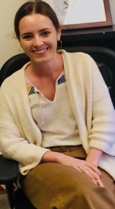 Dancer/Essayist/Lecturer Ellen O'Connell Whittet in 2019.