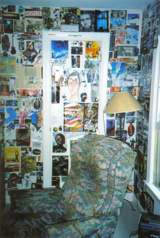 Joe's high school bedroom