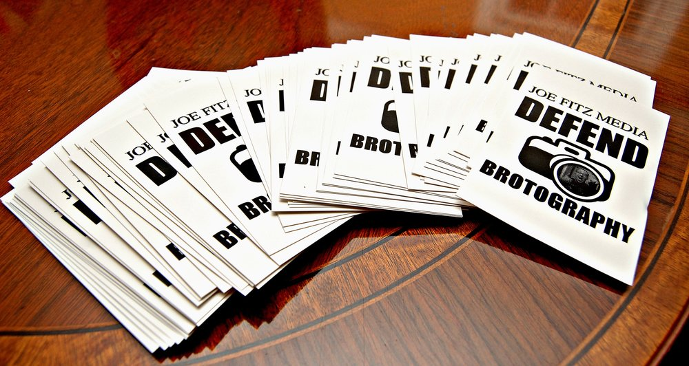 Defend Brotography stickers