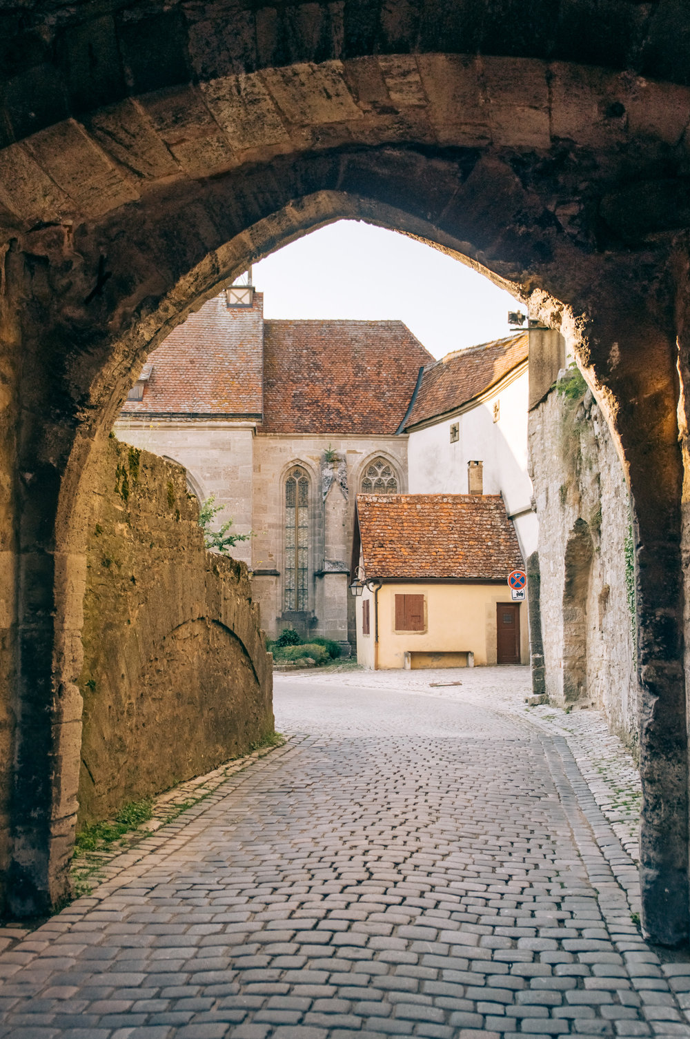 the old town -