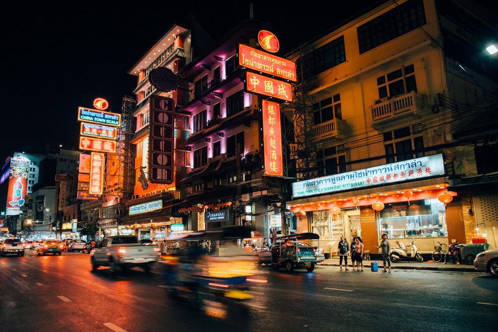 bangkok chinatown - Yaowarat,Bangkok 10200,Thailand