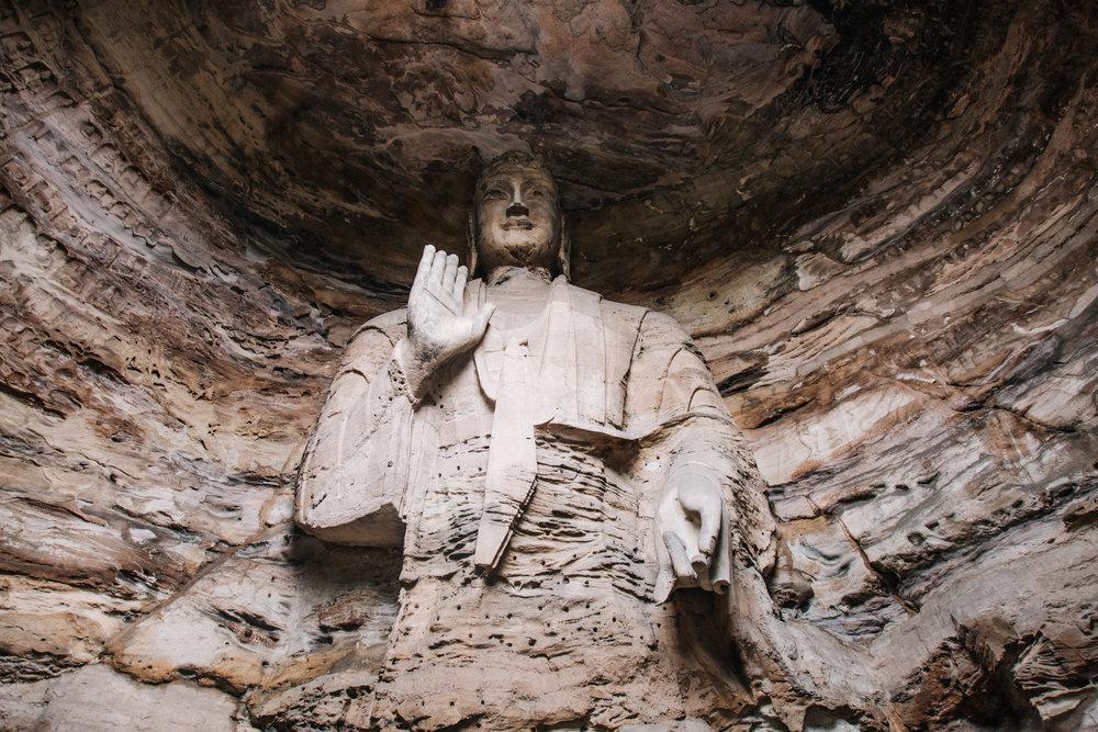 yungang grottoes -