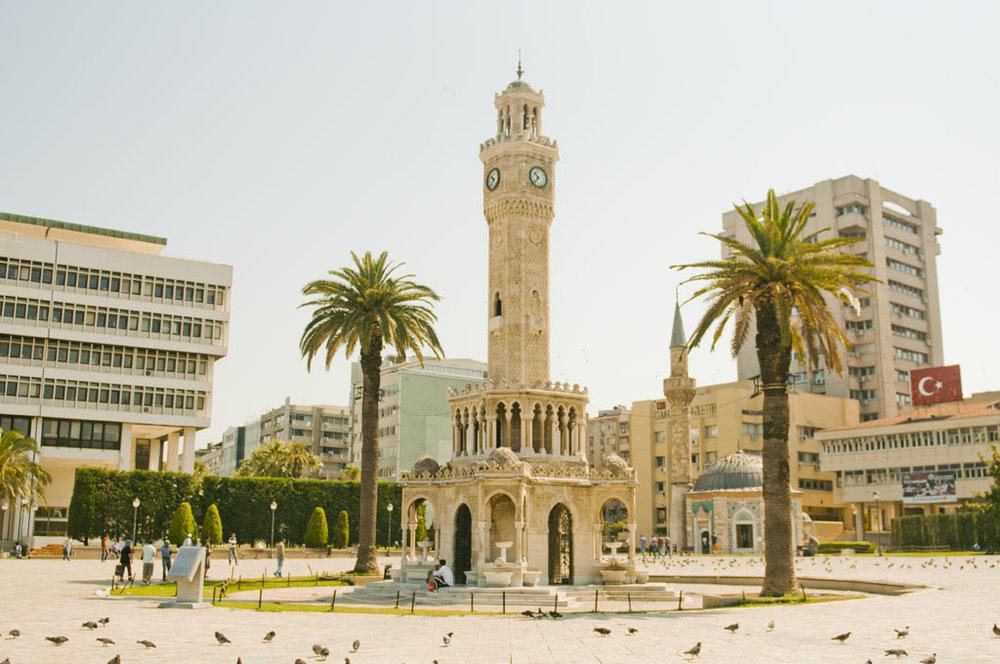 Clock tower - Konak Mahallesi, 35250 Konak/İzmir, Turkey