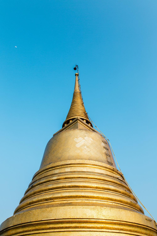 Wat Saket - 344 Chakkraphat Diphong Road | Bang Bat, Pom Prap Sattru Phai, Bangkok 10100, Thailand