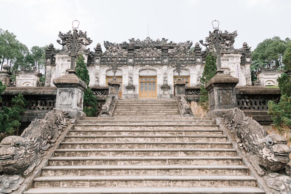 Tomb of Khai Dinh -