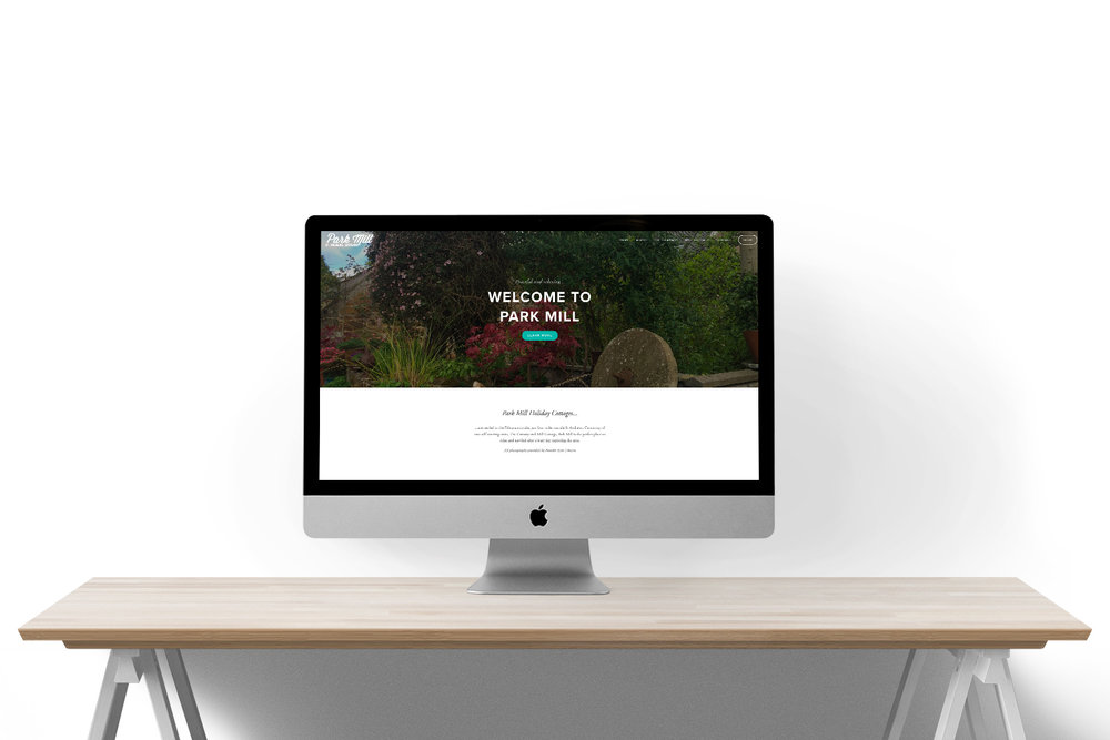 PARK MILL HOLIDAY COTTAGES | WEBSITE DESIGN