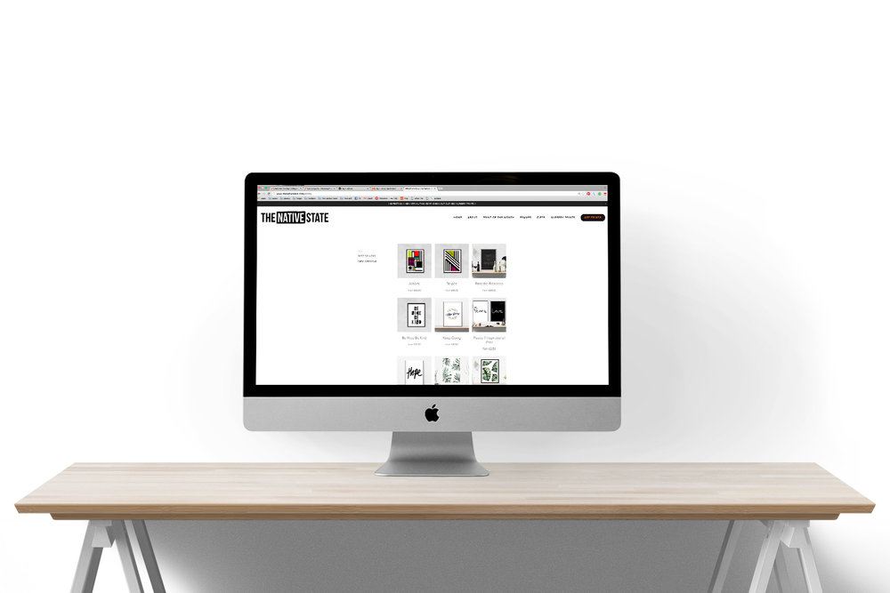 THE NATIVE STATE | WEBSITE DESIGN