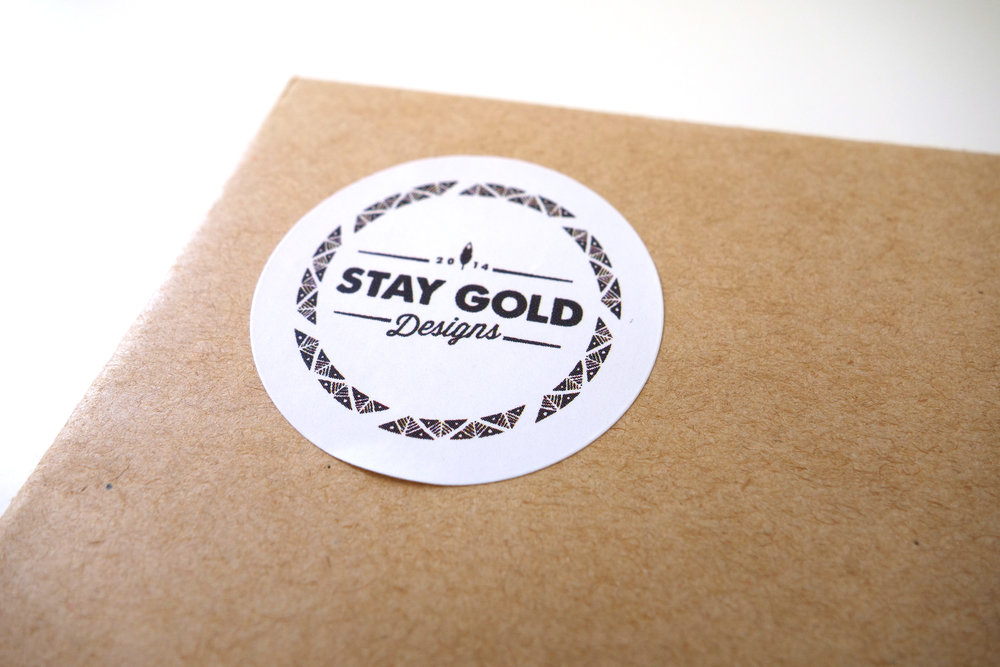 STAY GOLD DESIGNS  | STICKERS