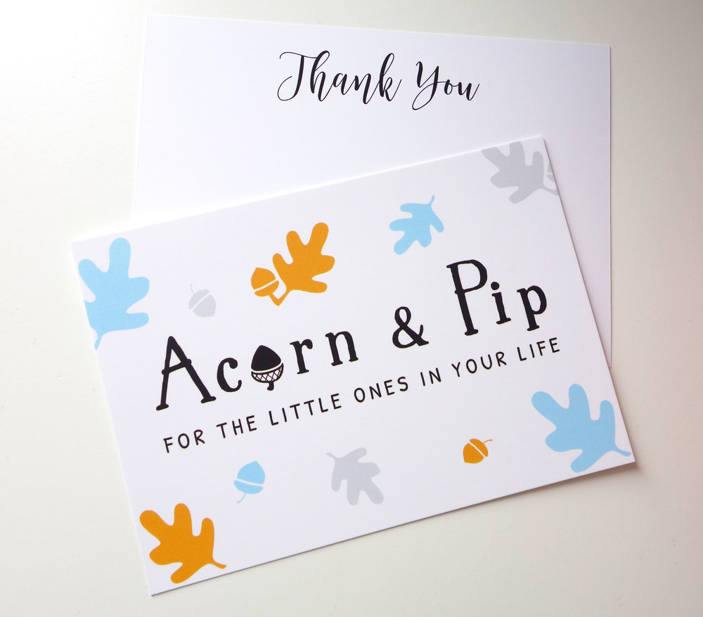 ACORN & PIP | THANK YOU CARDS