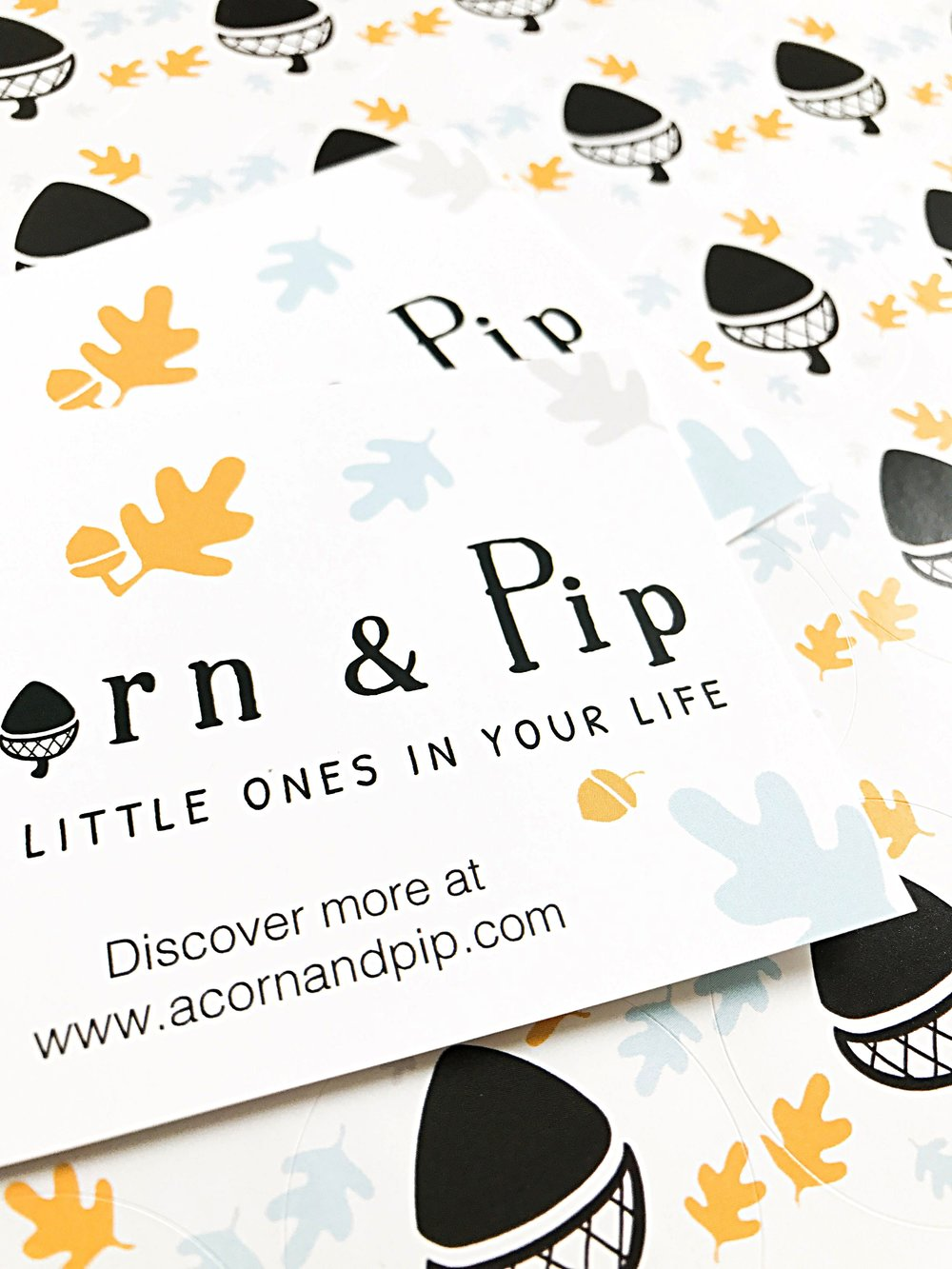 ACORN & PIP | BUSINESS CARDS