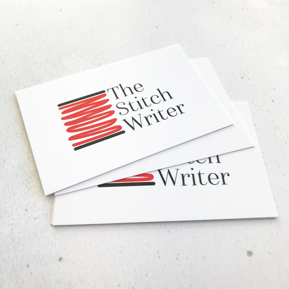 THE STITCH WRITER | BUSINESS CARDS