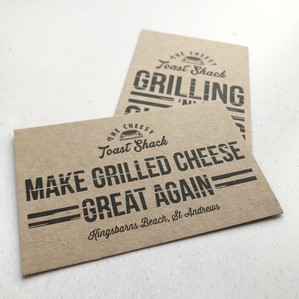 THE CHEESY TOAST SHACK | BUSINESS CARDS