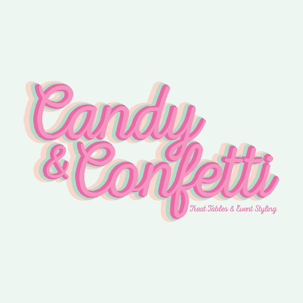 CANDY & CONFETTI | LOGO DESIGN