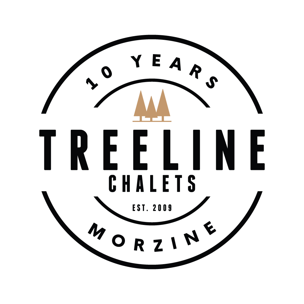 TREELINE | 10 YEAR CELEBRATION LOGO