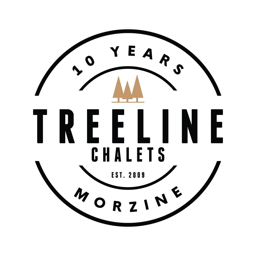 TREELINE | 10 YEAR CELEBRATION LOGO