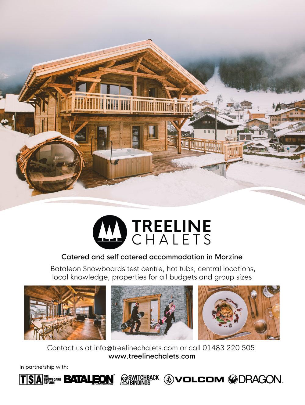 TREELINE | MAGAZINE ADVERT