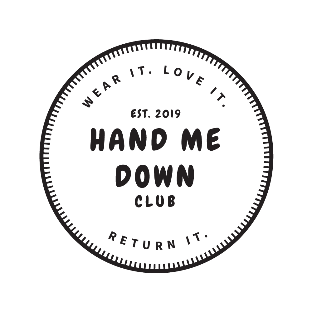 HAND ME DOWN CLUB   LOGO DESIGN