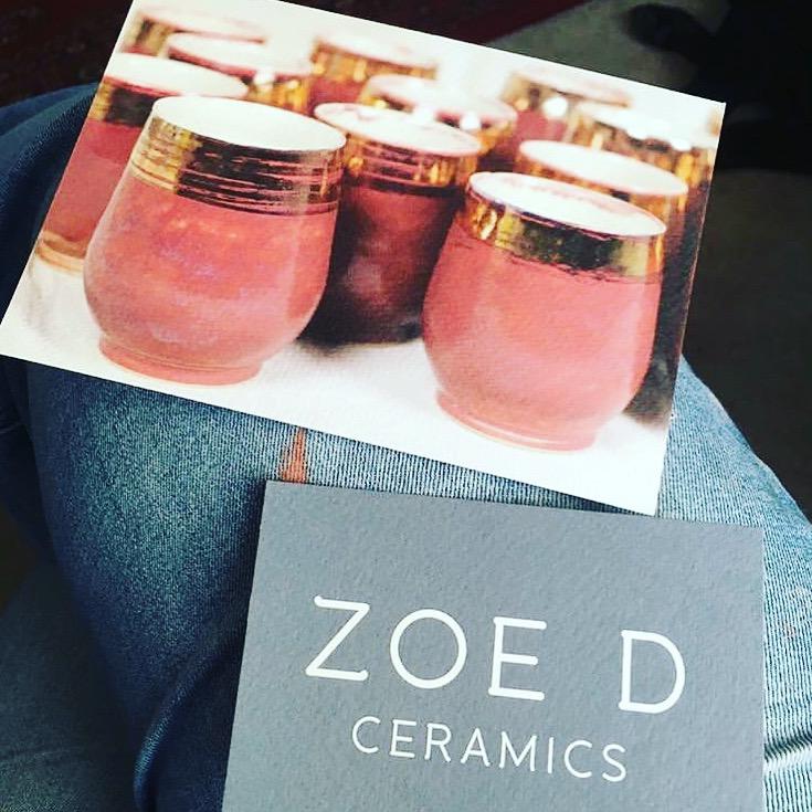 ZOE D CERAMICS   FLYER DESIGN