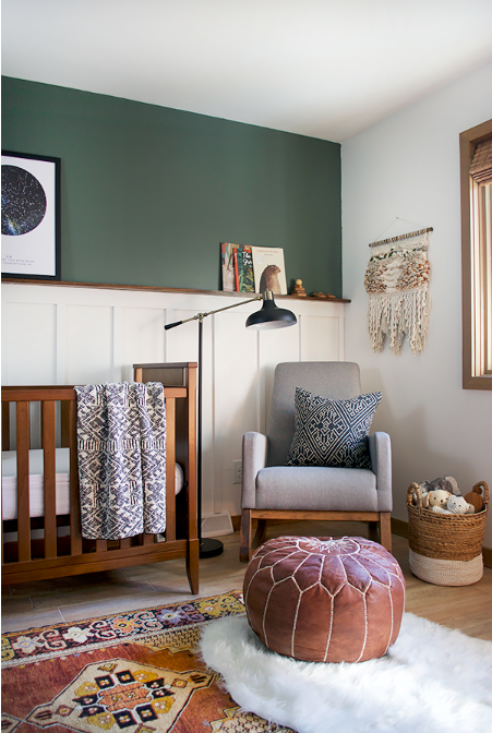 Wherever possible, try to position your cot or child's bed away from the window and radiators. Photo Credit:  Bre Purposed