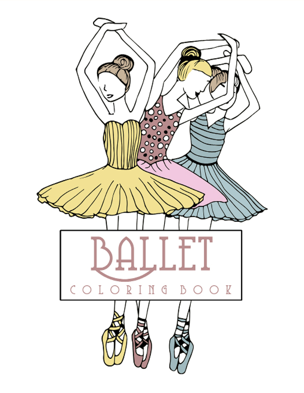 Happies - Ballet Coloring Book