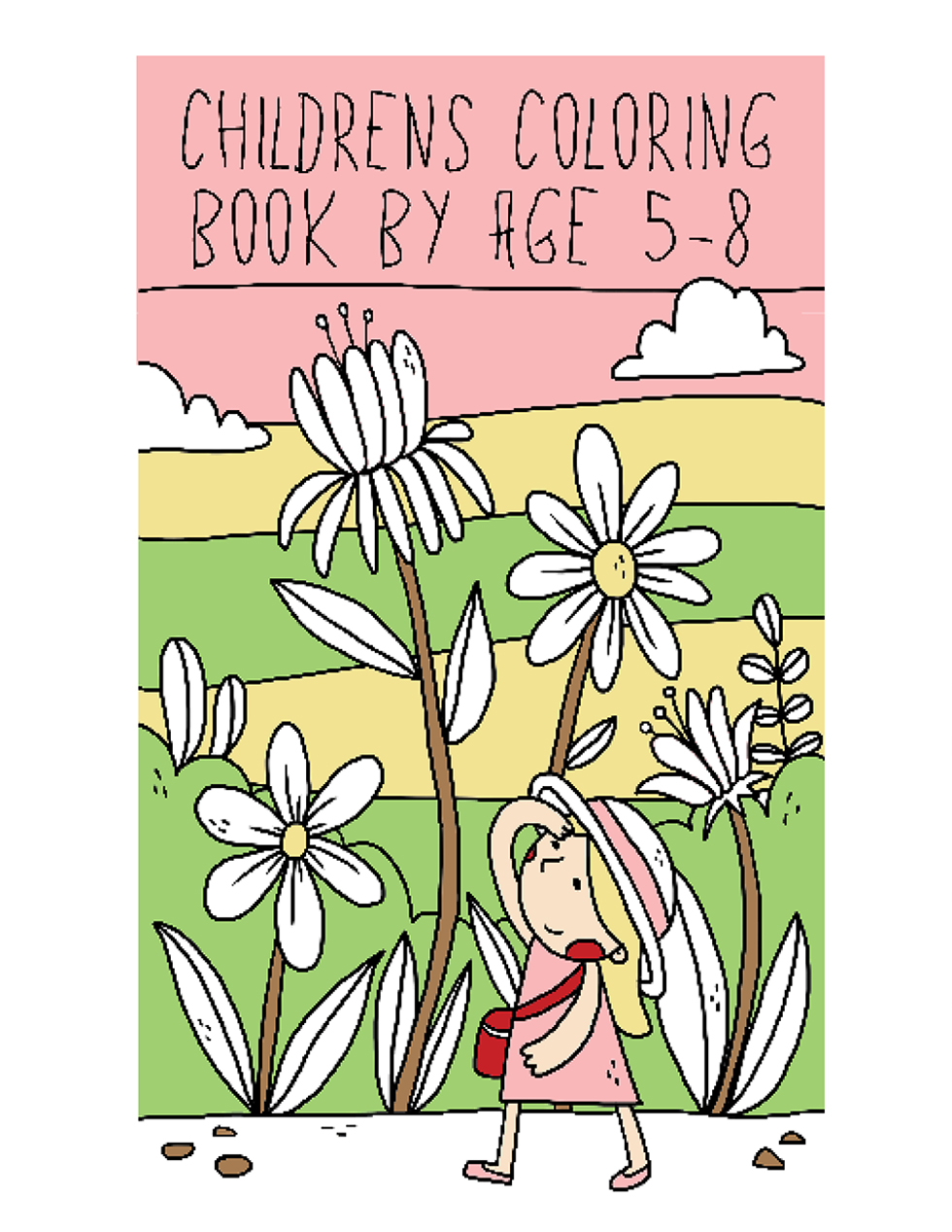 Happies - Childrens Coloring Books by Age 5-8